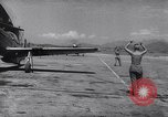 Image of F-51 aircraft of US 18th Fighter Bomber Wing Korea, 1951, second 50 stock footage video 65675033404