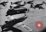 Image of F-51 aircraft of US 18th Fighter Bomber Wing Korea, 1951, second 54 stock footage video 65675033404