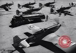 Image of F-51 aircraft of US 18th Fighter Bomber Wing Korea, 1951, second 55 stock footage video 65675033404
