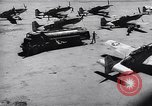 Image of F-51 aircraft of US 18th Fighter Bomber Wing Korea, 1951, second 57 stock footage video 65675033404