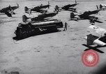 Image of F-51 aircraft of US 18th Fighter Bomber Wing Korea, 1951, second 58 stock footage video 65675033404
