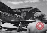 Image of F-51 aircraft of US 18th Fighter Bomber Wing Korea, 1951, second 60 stock footage video 65675033404