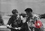 Image of F-51 aircraft of US 18th Fighter Bomber Wing Korea, 1951, second 61 stock footage video 65675033404