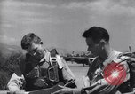 Image of F-51 aircraft of US 18th Fighter Bomber Wing Korea, 1951, second 62 stock footage video 65675033404