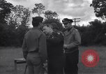 Image of Lieutenant General Brereton decorates fliers Criqueville France, 1944, second 34 stock footage video 65675033412