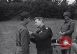 Image of Lieutenant General Brereton decorates fliers Criqueville France, 1944, second 47 stock footage video 65675033412