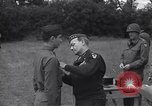 Image of Lieutenant General Brereton decorates fliers Criqueville France, 1944, second 48 stock footage video 65675033412