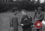 Image of Lieutenant General Brereton decorates fliers Criqueville France, 1944, second 49 stock footage video 65675033412