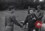 Image of Lieutenant General Brereton decorates fliers Criqueville France, 1944, second 50 stock footage video 65675033412