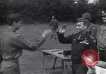 Image of Lieutenant General Brereton decorates fliers Criqueville France, 1944, second 51 stock footage video 65675033412