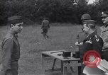 Image of Lieutenant General Brereton decorates fliers Criqueville France, 1944, second 52 stock footage video 65675033412