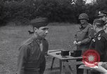 Image of Lieutenant General Brereton decorates fliers Criqueville France, 1944, second 53 stock footage video 65675033412