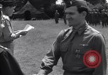 Image of Lieutenant General Brereton decorates fliers Criqueville France, 1944, second 57 stock footage video 65675033412