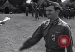 Image of Lieutenant General Brereton decorates fliers Criqueville France, 1944, second 58 stock footage video 65675033412
