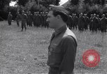 Image of Lieutenant General Brereton decorates fliers Criqueville France, 1944, second 59 stock footage video 65675033412