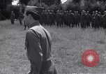 Image of Lieutenant General Brereton decorates fliers Criqueville France, 1944, second 60 stock footage video 65675033412