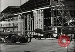 Image of Wrecked Planes Hangars and Ships Pearl Harbor Hawaii USA, 1942, second 46 stock footage video 65675033414