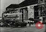 Image of Wrecked Planes Hangars and Ships Pearl Harbor Hawaii USA, 1942, second 48 stock footage video 65675033414