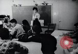 Image of Math and reading education for mentally disabled United States USA, 1969, second 45 stock footage video 65675033427