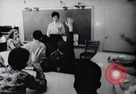 Image of Math and reading education for mentally disabled United States USA, 1969, second 47 stock footage video 65675033427