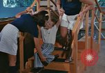 Image of Rehabilitation of mentally disabled United States USA, 1975, second 40 stock footage video 65675033433