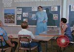Image of Speech therapy for mentally disabled United States USA, 1970, second 25 stock footage video 65675033434