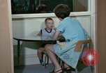 Image of Speech therapy for mentally disabled United States USA, 1970, second 46 stock footage video 65675033434