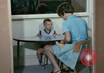 Image of Speech therapy for mentally disabled United States USA, 1970, second 48 stock footage video 65675033434