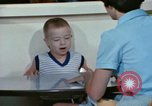 Image of Speech therapy for mentally disabled United States USA, 1970, second 50 stock footage video 65675033434