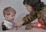 Image of Speech therapy for mentally disabled United States USA, 1970, second 52 stock footage video 65675033434