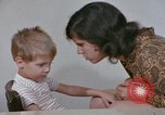 Image of Speech therapy for mentally disabled United States USA, 1970, second 53 stock footage video 65675033434