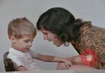Image of Speech therapy for mentally disabled United States USA, 1970, second 54 stock footage video 65675033434