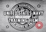 Image of Navy Training United States USA, 1942, second 5 stock footage video 65675033459