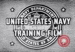 Image of Navy Training United States USA, 1942, second 6 stock footage video 65675033459