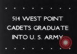Image of West Point Military Academy Cadets New York United States USA, 1943, second 31 stock footage video 65675033501