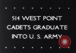 Image of West Point Military Academy Cadets New York United States USA, 1943, second 34 stock footage video 65675033501