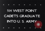 Image of West Point Military Academy Cadets New York United States USA, 1943, second 35 stock footage video 65675033501