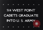 Image of West Point Military Academy Cadets New York United States USA, 1943, second 36 stock footage video 65675033501