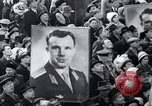 Image of Yuri Gagarin Moscow Russia Soviet Union, 1961, second 15 stock footage video 65675033522