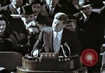 Image of John F Kennedy's Inaugural speech Washington DC USA, 1961, second 4 stock footage video 65675034027