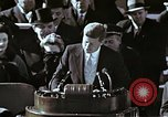 Image of John F Kennedy's Inaugural speech Washington DC USA, 1961, second 5 stock footage video 65675034027