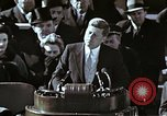 Image of John F Kennedy's Inaugural speech Washington DC USA, 1961, second 7 stock footage video 65675034027