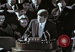 Image of John F Kennedy's Inaugural speech Washington DC USA, 1961, second 11 stock footage video 65675034027