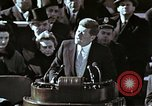 Image of John F Kennedy's Inaugural speech Washington DC USA, 1961, second 13 stock footage video 65675034027