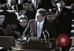 Image of John F Kennedy's Inaugural speech Washington DC USA, 1961, second 16 stock footage video 65675034027