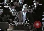 Image of John F Kennedy's Inaugural speech Washington DC USA, 1961, second 19 stock footage video 65675034027