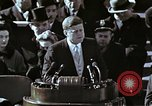 Image of John F Kennedy's Inaugural speech Washington DC USA, 1961, second 22 stock footage video 65675034027
