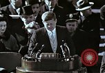 Image of John F Kennedy's Inaugural speech Washington DC USA, 1961, second 23 stock footage video 65675034027