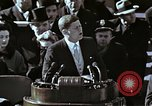 Image of John F Kennedy's Inaugural speech Washington DC USA, 1961, second 24 stock footage video 65675034027