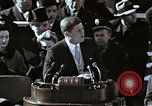 Image of John F Kennedy's Inaugural speech Washington DC USA, 1961, second 25 stock footage video 65675034027